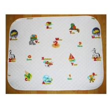fashion plastic baby waterproof mat