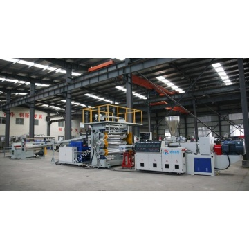 PVC foam sheet making machine line