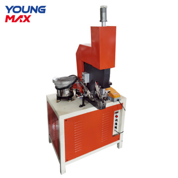 cookware hole punching  automatic rivet machine