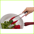 hot sale 100% food grade silicone kitchen tongs