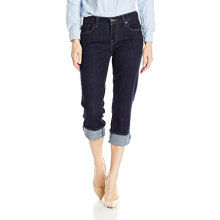 Women's Easy Fit Cameron Cuffed Capri Jean