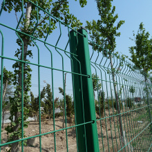 Bending Curvy Garden Welded Wire Mesh Panel Fence