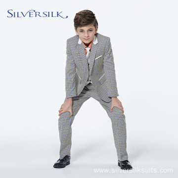 Wholesale Custom Brandedl Children Tuxedo Suit Boys Blazers