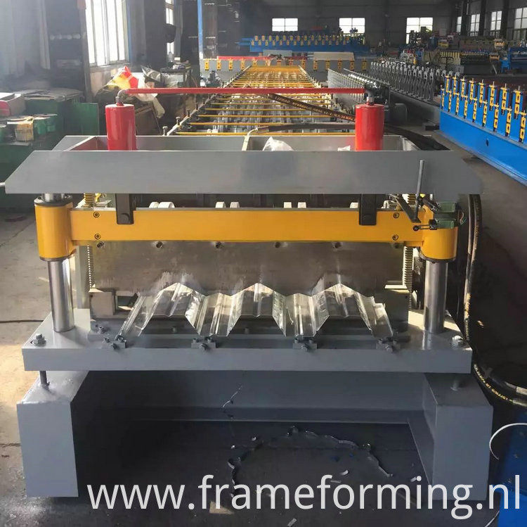 steel deck panels floor roll-forming machine