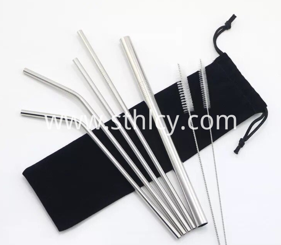 Food Grade Metal Straws