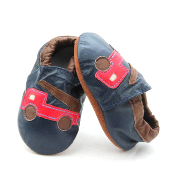 Wholesale Customized Soft Sole Baby Real Leather Shoes