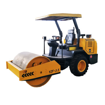 road rolling machine used in soil floor