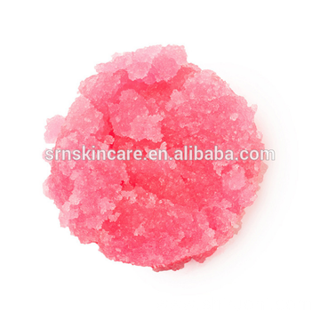 Natural Strawberry Sugar Lips Care Scrub Exfoliator