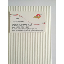 Fire resistant filter paper