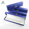 High Quality Blue Plastic Jewelry Box for Bracelet