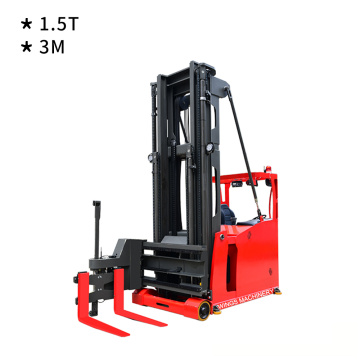 3-Way Pallet Stacker 1.5ton 3m