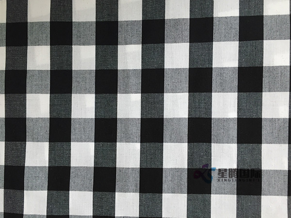 Checked Textile For Clothe