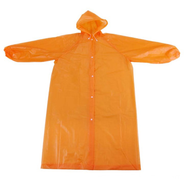 Customized Printed PE Disposable Raincoat