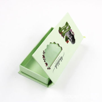 Luxury Colorful Elegant Eyelash Cosmetic Packaging Paper Box