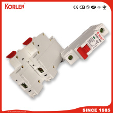 Free Sample MCB DC/AC Solar System PV Circuit Breakers 163A  1p 2p  3p  4p  6ka/10ka High Breaking Capacity, 100V/230V/400V,
