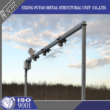 Galvanized Steel Traffic Camera Pole