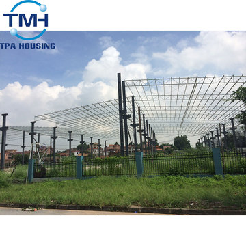 building steel structure warehouse design technical data