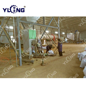Wood Chips Pellet Mill Plant
