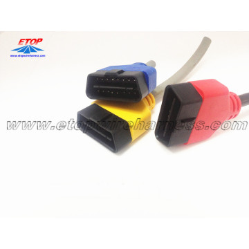 Molded OBD Female Connector