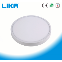 18W Integrated Rimless Round Surface Mounted Panel Light
