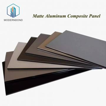 Matte Aluminum Composite Panel for Exterior Wall