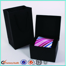 Luxury Square Black Tie Packaging Boxes