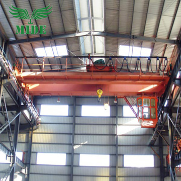 5 ton double beam bridge crane