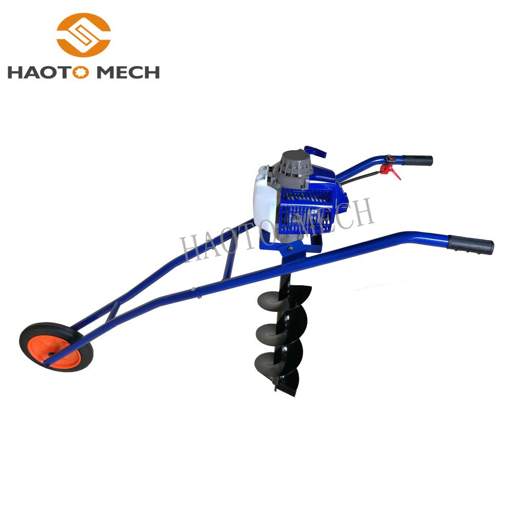 52cc hand push hole digger ground drill