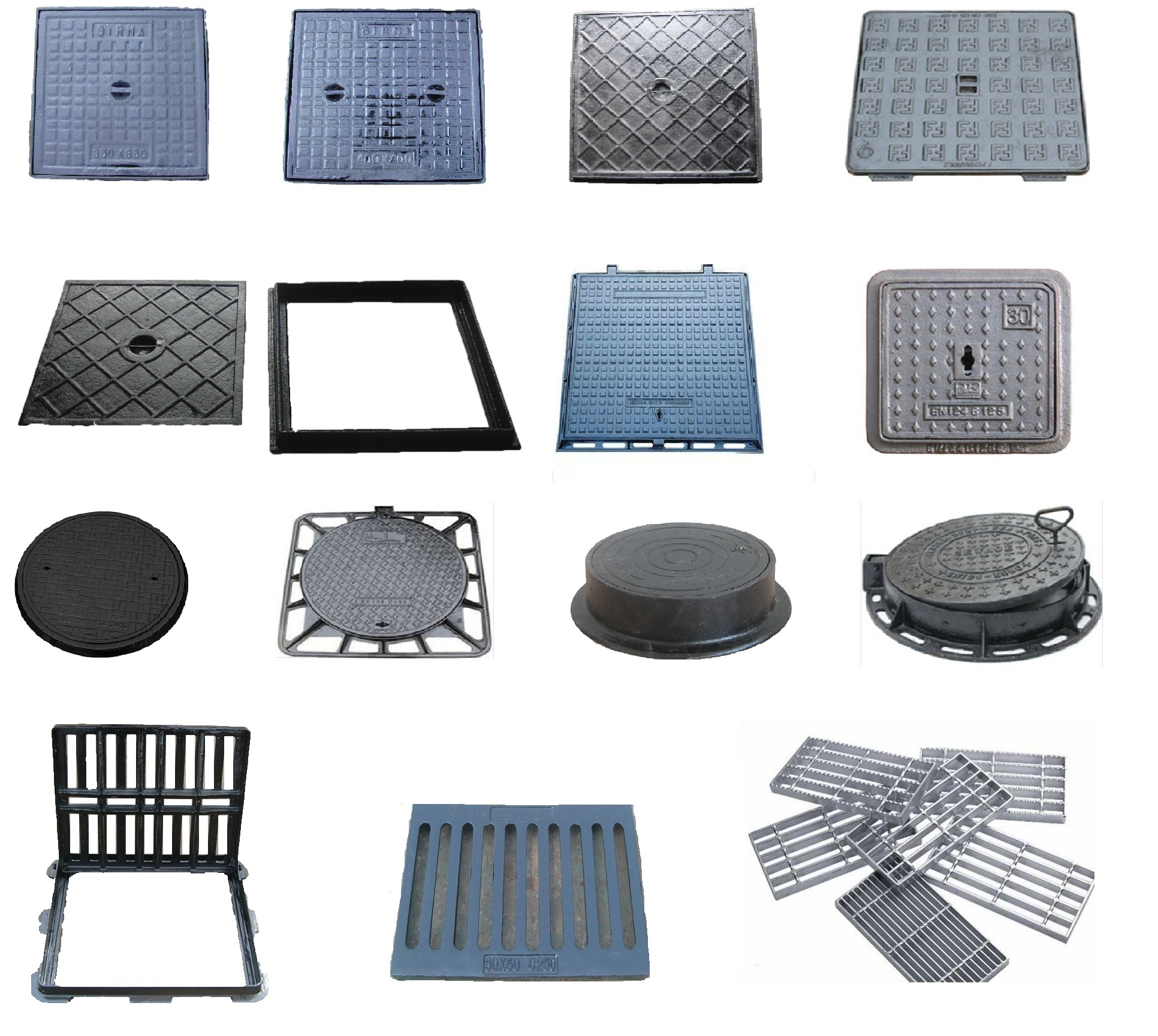 manhole covers & gratings