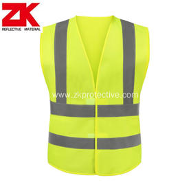 CE standard high visibility safety vest with logo