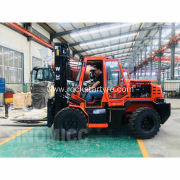 3.5 Tons Rough Terrain Forklift W35