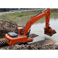 Miniature Amphibious Excavator For Sale