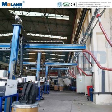 Automatic Blowback Cleaning System Hardfacing Fume Filter