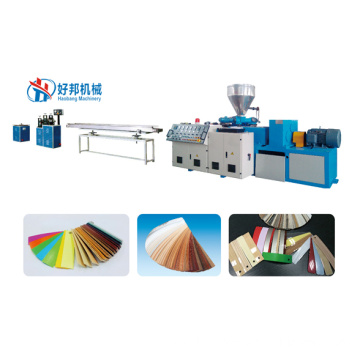 PVC edge banding sheet machine