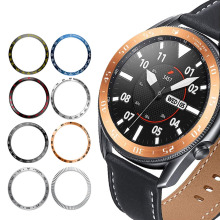 Bezel Ring For Samsung Galaxy Watch 46mm/42mm Gear S3 Frontier/Classic Metal Protector Cover Case Galaxy watch 3 45mm/41mm
