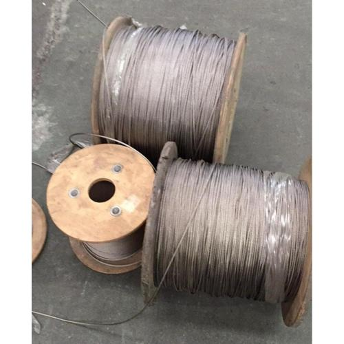316 stainless steel wire rope 1x19 1.2mm