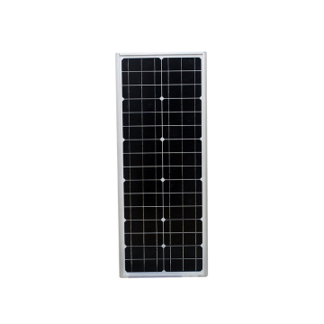 50W Commercial Solar Parking Lot Street Lights