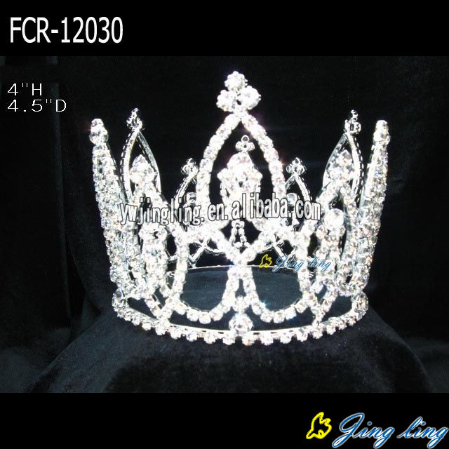 Full Round queen of crowns beauty pageant