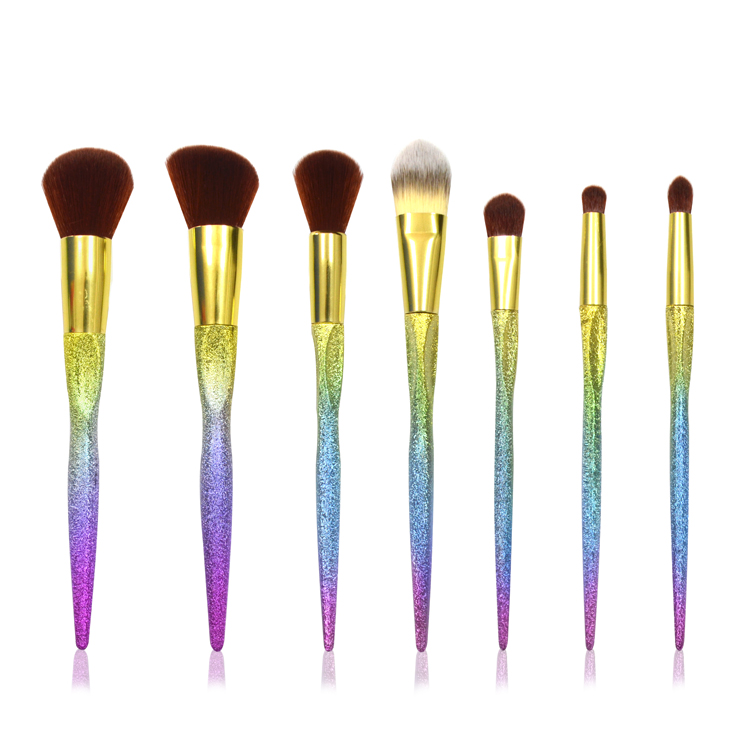 7pcs Mermaid Makeup Brush