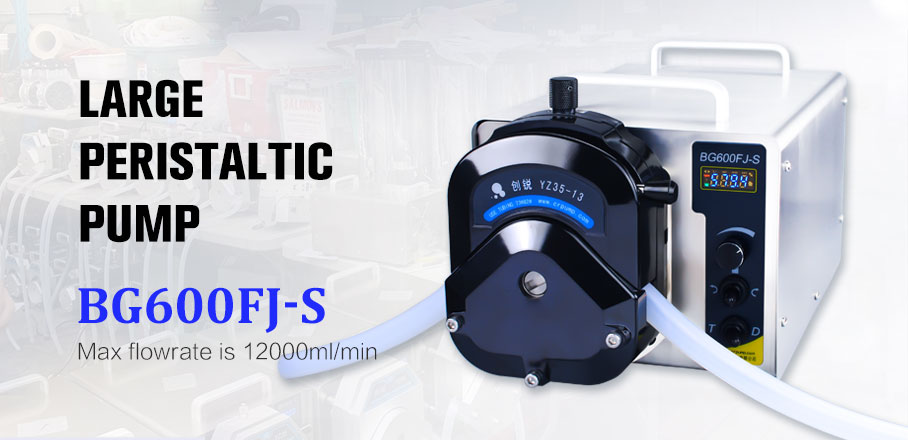 Industrial Polishing peristaltic pump