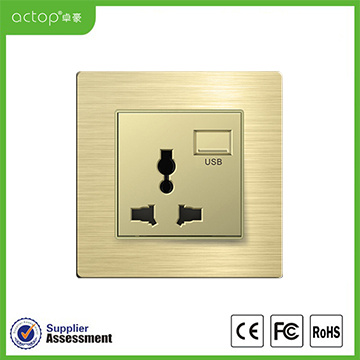Energy Hotel Safety Intelligent Wall Power Socket