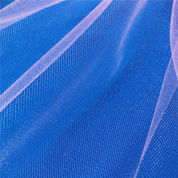 Nylon American Tulle Mesh Fabric for Wedding Dress