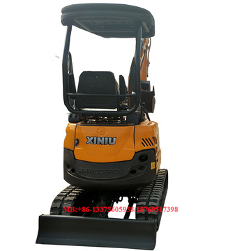 Mini excavator with swing boom 1.8T mini digger