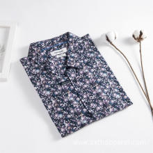 Men's Floral Print Long Sleeve Outdoor Casual Shirt