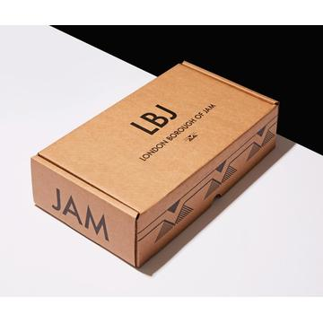 Small kraft retail packaging corrugated box