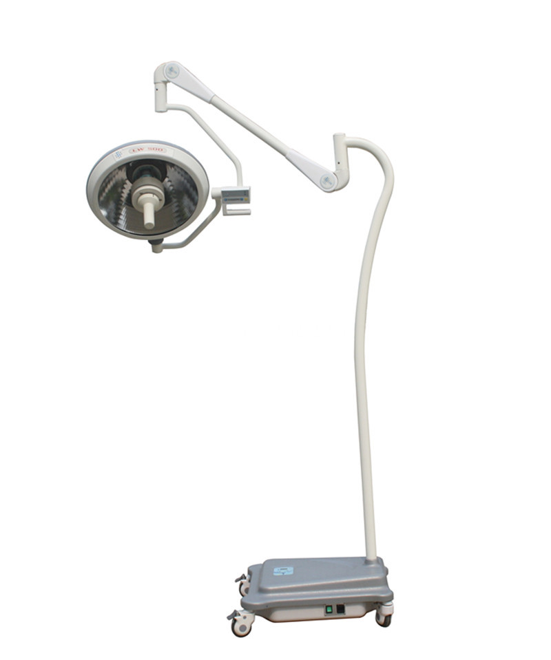 Mobile halogen bulb operating lamp
