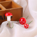 10pcs/20pcs Mushrooms Miniature Fairy Garden Home Decoration Craft Micro Landscape Christmas Decor for Home DIY Party Gift