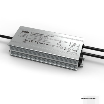 100W Linear High Bay Luminaire IP Rated Driver