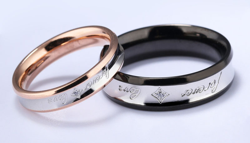 couple ring with name