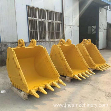 OEM welcomed Excavator spare parts E345GC 2.41cbm heavy duty rock bucket